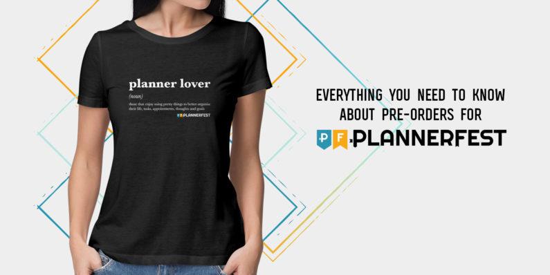 Plannerfest Pre-Orders