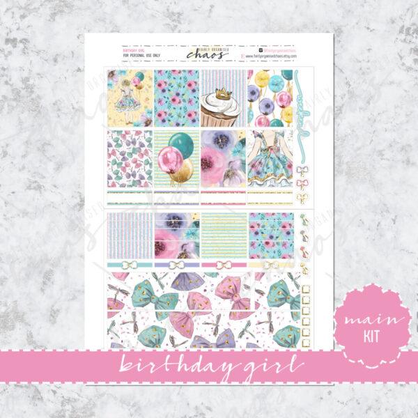 Birthday Girl Full Kit